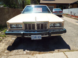 FOR SALE 1979 MERCURY MARQUIS MAKE AN OFFER