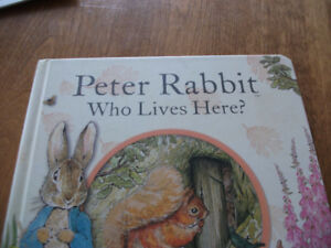 PETER   RABBIT   WHO   LIVES   HERE