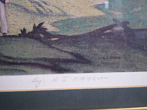 """A.J. Casson - """" Country Crisis """" -  Limited Edition Print Kitchener / Waterloo Kitchener Area image 4"""