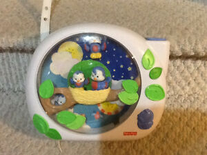 FISHERPRICE FLUTTERBYE DREAMS BABY CRIB SOOTHER Regina Regina Area image 1