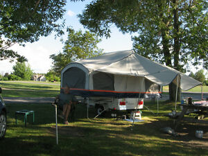 Tente-Roulotte Clipper Express de Viking