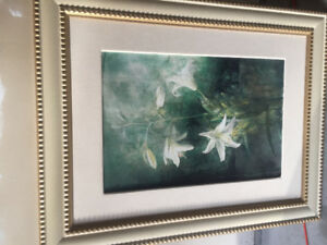 Orchid canvas painting