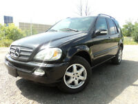 2002 Mercedes-Benz M-Class ML 500 4 MATIC WITH NAVI , SUV