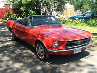 1967 Red Convertible Ford Mustang Fully Restored to New!