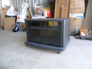 TV Stand on casters