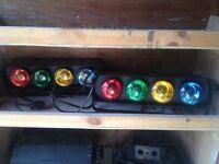 Disco lights £10
