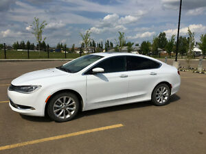 2015 Chrysler 200C incl.extended warranty, winter tires and rims