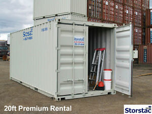 10', 20' & 40' Storage / Shipping Containers – $1,675 - $1,895