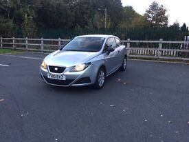 Seat Ibiza 1.2S 3dr. Low miles ! 2010 CHEAP to TAX , INSURE and FUEL