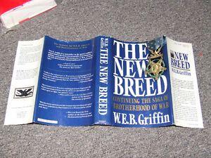 The New Breed - 1st Edition/1st Printing - W.E.B. Griffin - $20 Belleville Belleville Area image 5