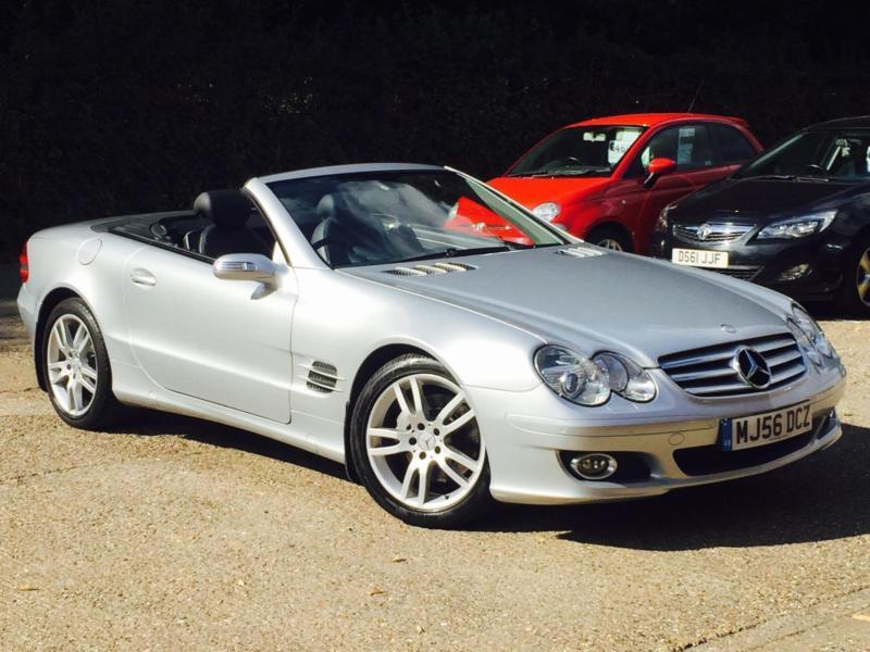 2007 Mercedes-Benz SL350 3.5 7G-Tronic SL350 Silver only