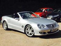 2007 Mercedes-Benz SL350 3.5 7G-Tronic SL350 Silver only 47,908 Miles FSH SUPERB