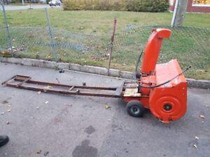 Souffleuse Ariens pour tracteur ou VTT