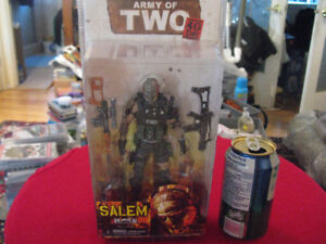 NECA's Salem- Rios Army of Two: The 40th Day action figures PS3
