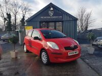 Toyota Yaris 1.0 VVT-I T2 (red) 2006