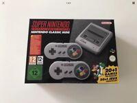 SNES Super Nintendo Classic Mini Brand New In Box