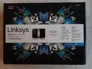 Linksys N900 dual band router