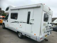 2008 Fiat Swift FREESTYLE 590RS 5 BERTH 5 SEAT MOTORHOME Coach Built Diesel Manu