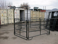 Round Pen – 15 - Mesh 4′X7′ Panels + Gate