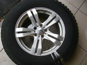 4 MAGS AND TIRES NOKIAN studded for pathfinder
