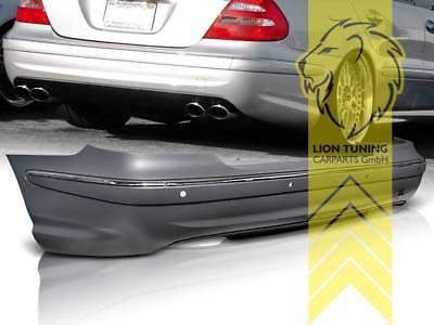 Heckstoßstange Heckschürze für Mercedes Benz W211 Limousine E-Klasse für PDC