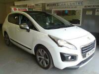 2014 Peugeot 3008 1.6 HDI ALLURE 5d 115 BHP Hatchback Diesel Manual