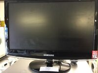 """Samsung 19"""" lcd monitor Freeview tv"""