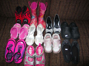 GIRL'S SHOES VARIOUS SIZES/PRICES