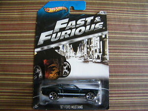 Hot Wheels Fast and Furious 67 Ford Mustang