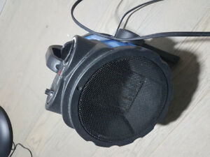 Portable mastercraft space heater with fan