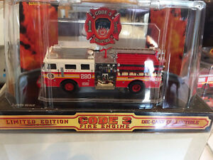 Code 3 FDNY FIRE ENGINE SET # 75 AND # 280