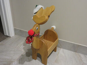 ADORABLE SOLID OAK REINDEER - REDUCED Peterborough Peterborough Area image 2