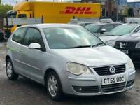 * 55 2006 VOLKSWAGEN VW POLO 1.4 TDI + 1 OWNER FROM NEW + LONG MOT + 109K MILES
