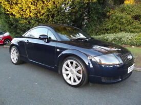AUDI TT QUATTRO 1.8 180bhp 2003 ONLY 2 LADY OWNERS WITH FULL SERVICE HISTORY