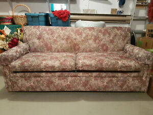 FABRIC FUTON COUCH VERY CLEAN AND SMOKE FREE ENVIRONMENT
