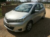 2013 TOYOTA YARIS DEMO + 1 LADY OWNER FOM NEW WITH VERY LOW MILES****10K****
