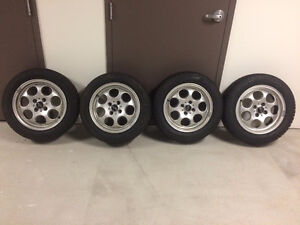 Mini Cooper Winter Tires and Alloy Rims 175-65-r15 300$ (REDUCED