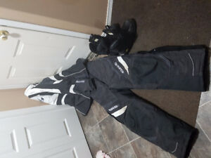 GKS snowmobile riding suit with gloves