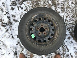 Winter tires 195/65R15 Strathcona County Edmonton Area image 2