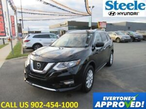 2018 NISSAN ROGUE SV AWD Sunroof backup camera heated seats and