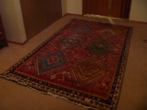 Wool Area rug from Iran 5' x 8'