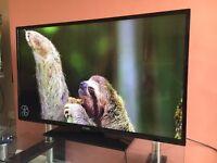 42 Inch Full HD HD Smart Slim LED TV BULIT in wifi NEYRLY new