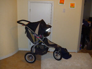 BOB Revolution CE Single Stroller (Car seat +adapter)*