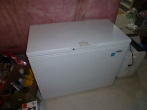 Extra large Whirlpool freezer, almost brand new
