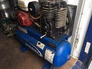 Honda powered air compressor  Strathcona County Edmonton Area image 1