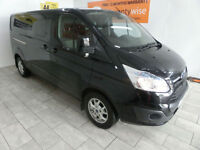 2015, Ford Transit Custom 2.2TDCi ( 125PS ) Double Cab-in-Van 2015.5MY 290 L2H1