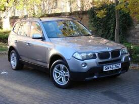 AA WARRANTY!! 56 REG BMW X3 2.0 20d SE 5dr, AWD, 4X4, 1 YEAR MOT, DIESEL