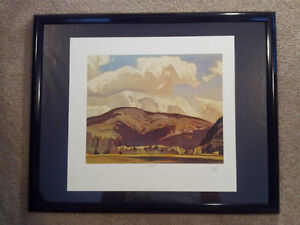 """A.J. Casson """"Eagles Nest"""" Lithograph - Appraised at $600 London Ontario image 4"""