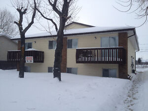 Two bedroom suite in four plex