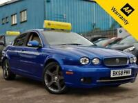 2008 JAGUAR X-TYPE 2.2 SOVEREIGN 152 BHP! P/X WELCOME+SAT-NAV+LEATHER+BLUETOOTH!